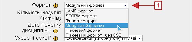 Модульний формат